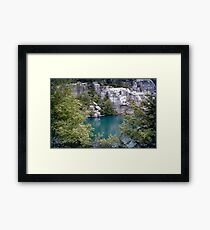 Glacial Lake Framed Print