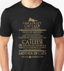 Mother Of Cats. Catleesi  T-Shirt