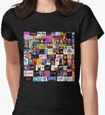 MUSIKALIEN! (Bettdecke, Kleidung, Buch, Kissen, Aufkleber, Etui, Becher usw.) Tailliertes T-Shirt für Frauen