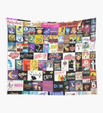 MUSICALS! (Duvet, Clothing, Book, Pillow, Sticker, Case, Mug etc)  Wall Tapestry