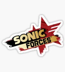 sonic forces Sticker