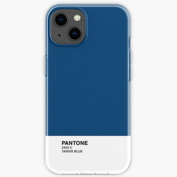 TARDIS blue iPhone Soft Case