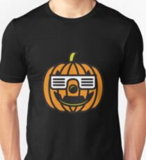 Hipster Pumpkin Cool Halloween T-Shirt  T-Shirt