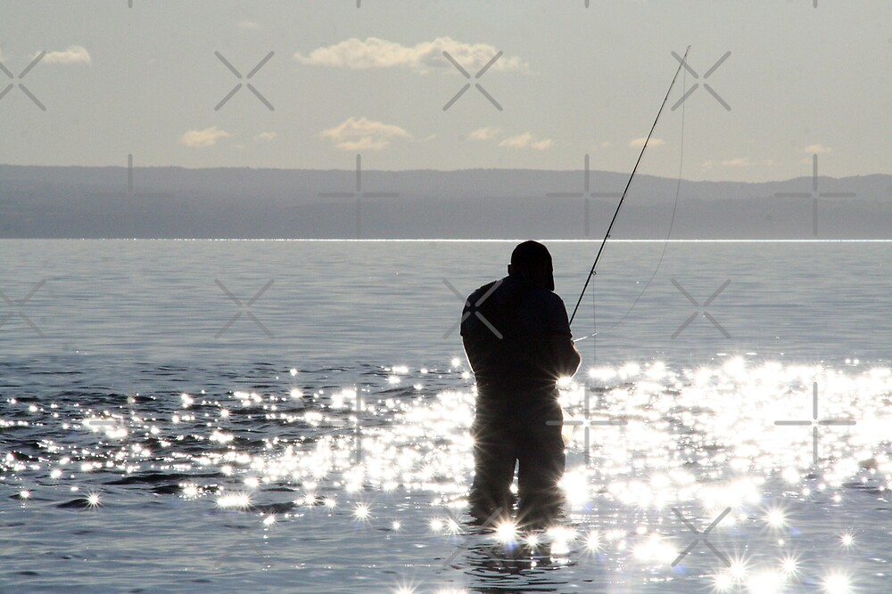 Fishing by David Tate