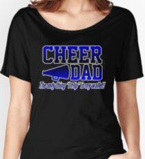 cheer dad designs cheerleader Women's Relaxed Fit T-Shirt
