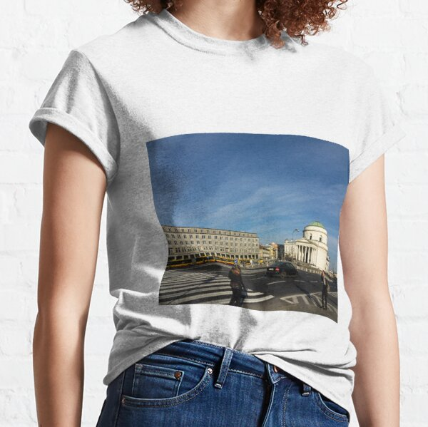 Urban Geometry - Warsaw Poland Classic T-Shirt