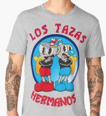 Cuphead Mugman Los Pollos Hermanos Men's Premium T-Shirt