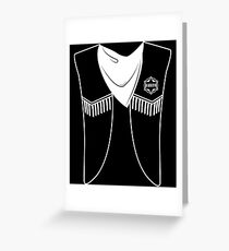 Mexican Sheriff - Costume, Outfit, Dress Up, Uniform Greeting Card