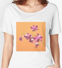 Orchid sweet orange fashion Women's Relaxed Fit T-Shirt