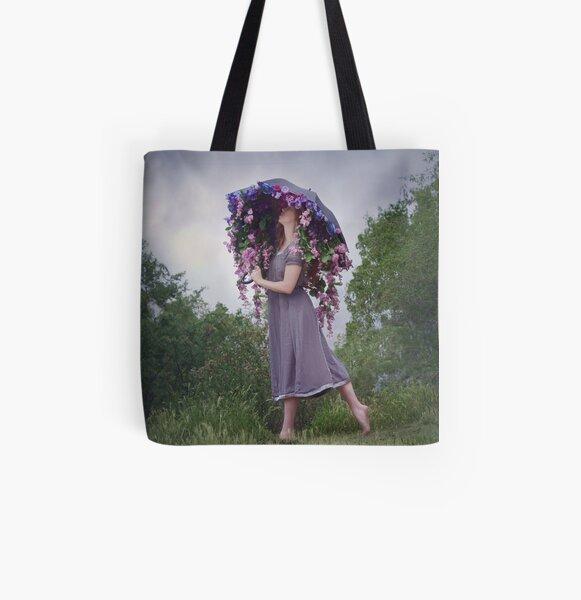 Perennial Parasol All Over Print Tote Bag