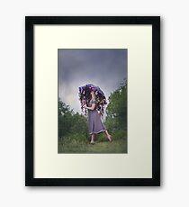 Perennial Parasol Framed Print