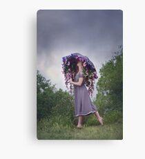 Perennial Parasol Canvas Print