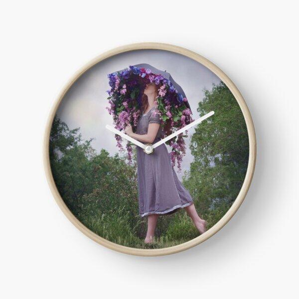Perennial Parasol Clock