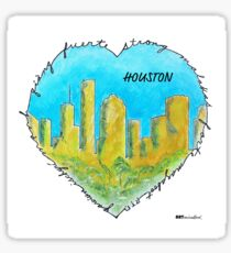 Houston: Diverse and Strong Sticker
