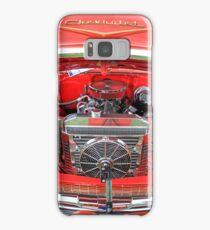 Red & chrome. Samsung Galaxy Case/Skin