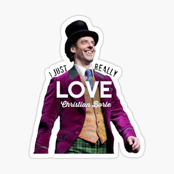 Ich liebe Christian Borle wirklich Sticker