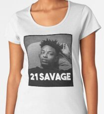 21 SAVAGE Women's Premium T-Shirt