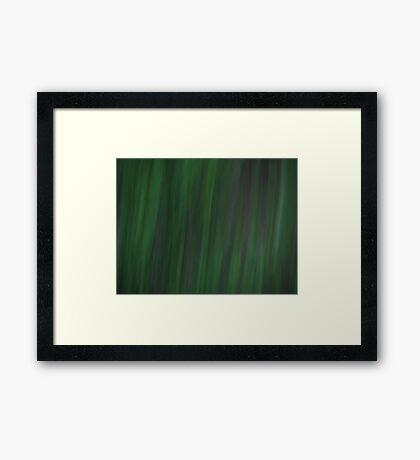 Grass - Dark Framed Print