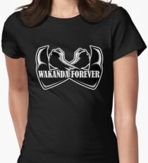 Wakanda Forever Women's Fitted T-Shirt