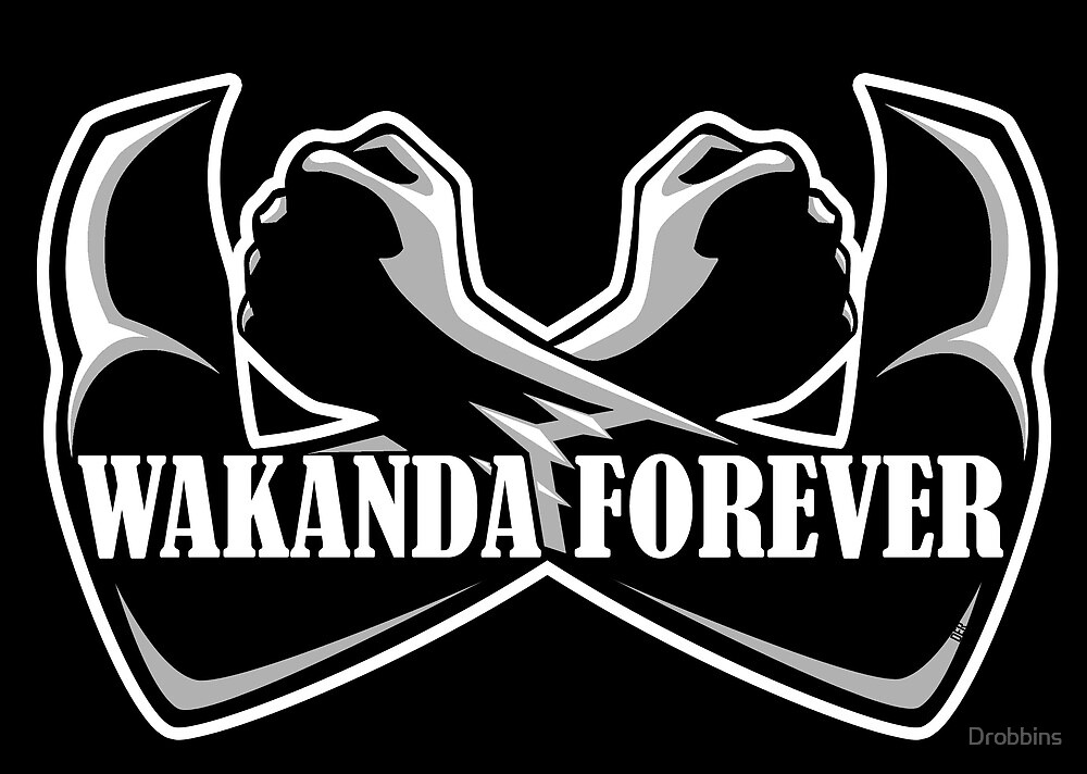 Image result for wakanda forever sign