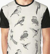 Birdtober Graphic T-Shirt