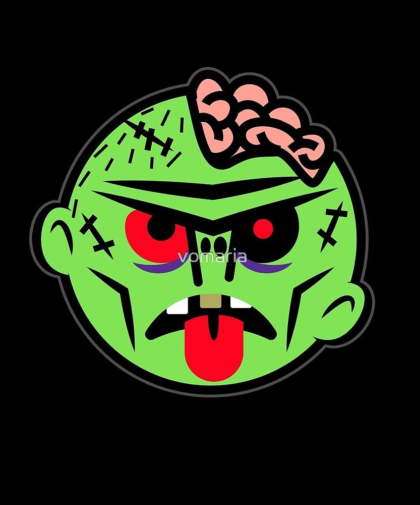 Zombie Emoji by vomaria