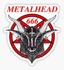 METALHEAD Sticker