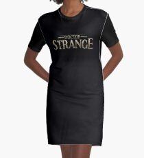 strange Graphic T-Shirt Dress