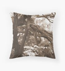 Tangled woods 2 Throw Pillow