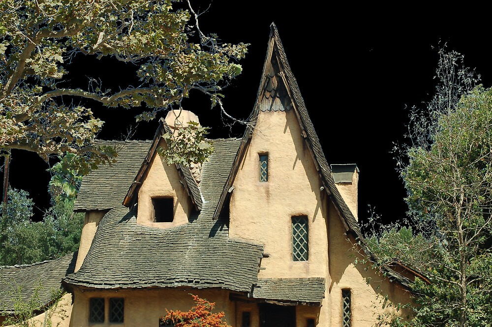 A View of The Witches House by Jawaher