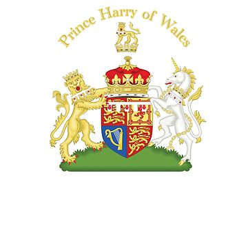 Prince Harry Coat of Arms, Prince Henry, Royal Family by cinn