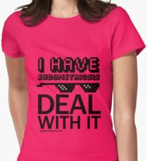 I Have Endometriosis - Deal With It T-Shirt