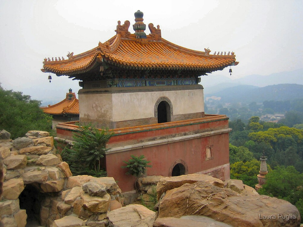 More Of Summer Palace in Beijing  by Laura Puglia