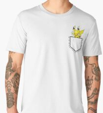 Pikachu Smash Pocket Men's Premium T-Shirt
