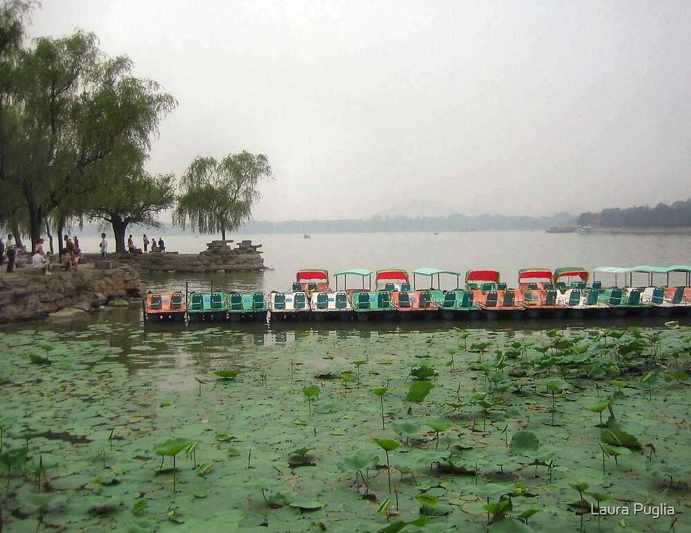 KuMing Lake, Summer Palace  by Laura Puglia