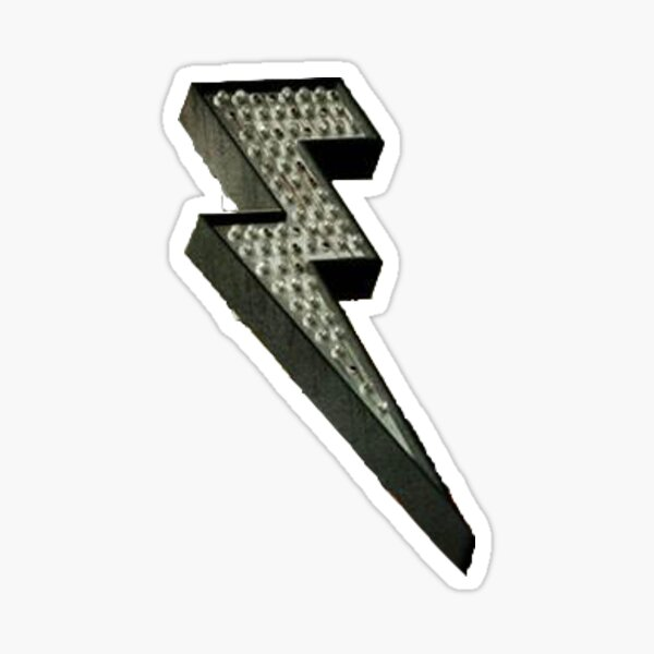 Battle Born lightning Sticker
