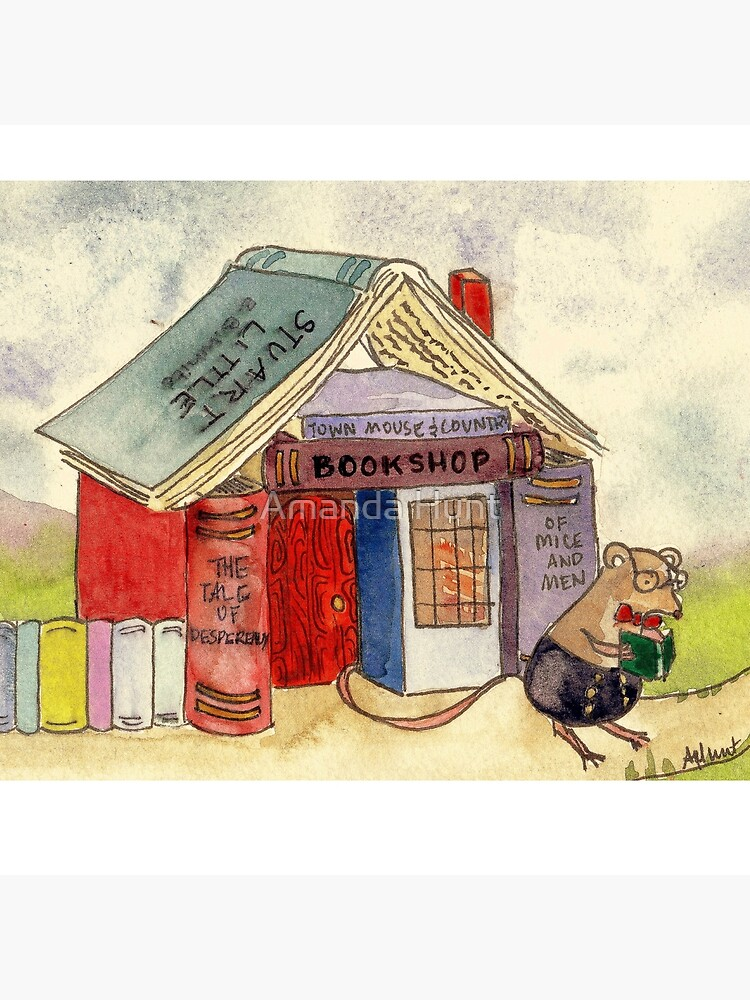 The Mouse's Bookshop by KeLu