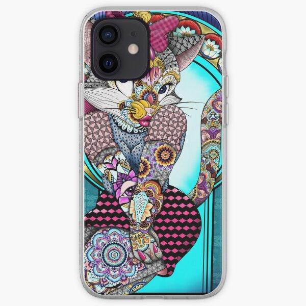 Tattooed Lucky Cat iPhone Soft Case