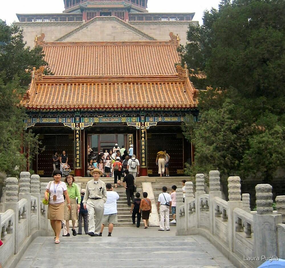 Buddhist Fragrance Hall, Summer Palace by Laura Puglia