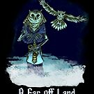 Ankou from A Far Off Land - Art by Gennifer Bone by Megan Bennett-Burks