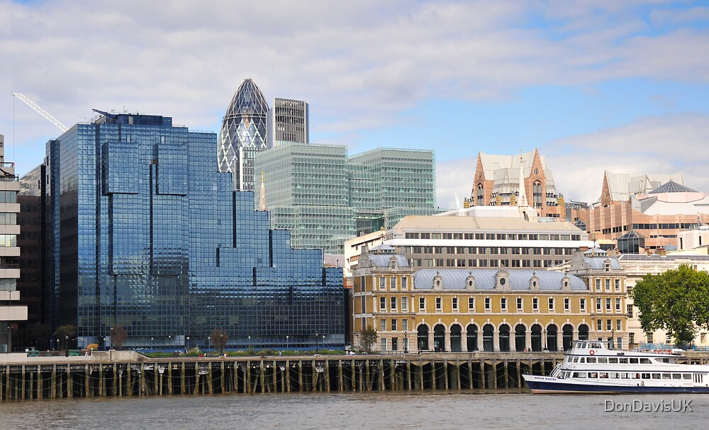 The Glass and Stone of London by DonDavisUK