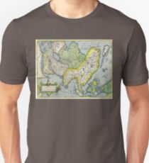 Old Map #11 T-Shirt