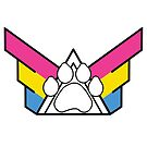 United Family of Pup Play: Pansexual Pride by NerdyDoggo