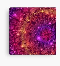 Pink abstract Canvas Print