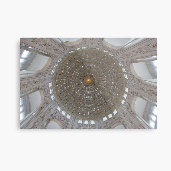Baha'i Temple Dome Ceiling Metal Print