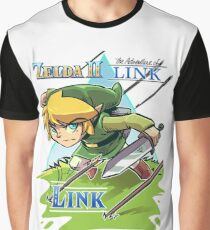 Zelda 2 The Adventure Of Link Graphic T-Shirt
