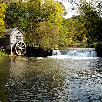 Hydes Mill in fall by gerelgruber