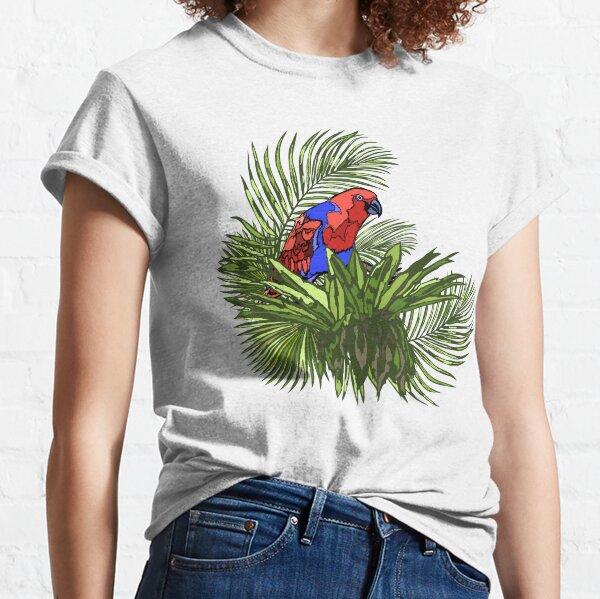 Rainforest Retreat: Eclectus Classic T-Shirt