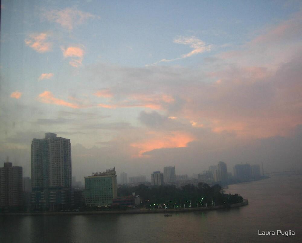 Nanchang At Sundown by Laura Puglia