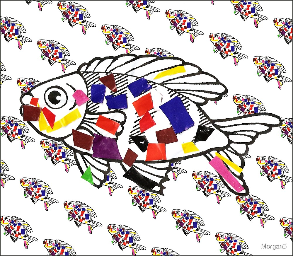 Rainbow Fish 1 by Morgan5